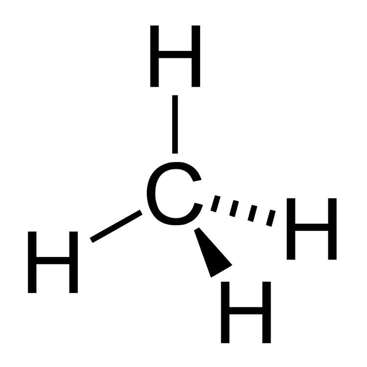 methane-molecular-structure